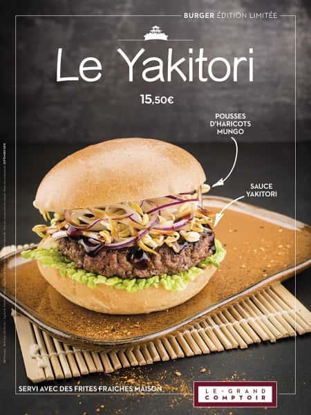 photographe culinaire le grand comptoir ambiance burger yakitori