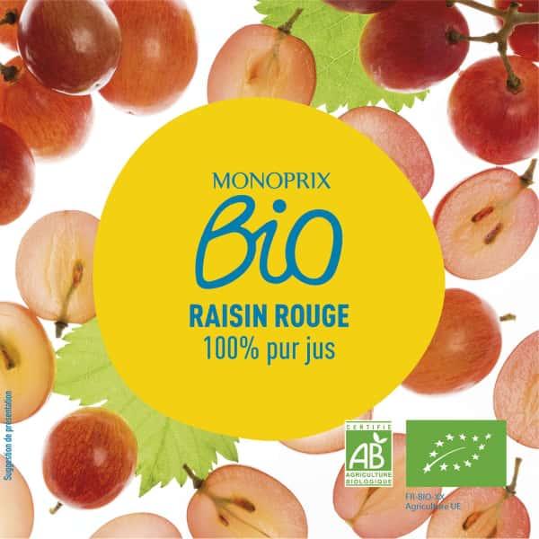 photographe culinaire monoprix bio jus raisin