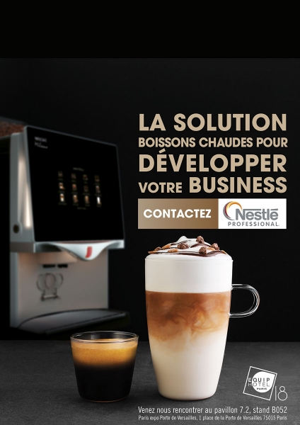 photographe culinaire nestle professional magazine cafe topping cappuccino expresso