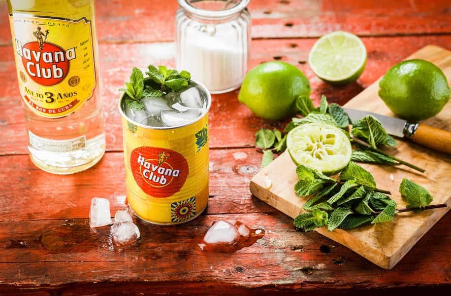 photographe culinaire pernod ricard ambiance boisson rhum havana mojito
