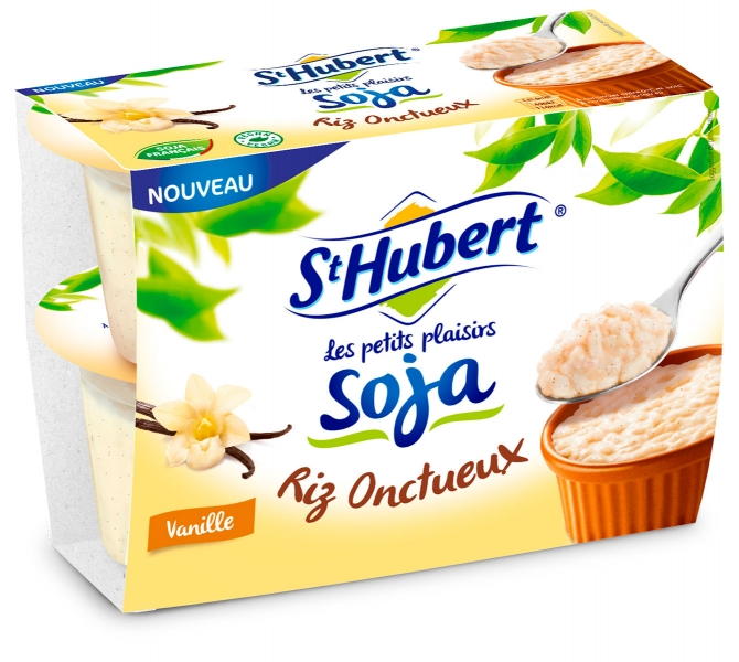 photographe culinaire st hubert packaging riz soja onctueux vanille