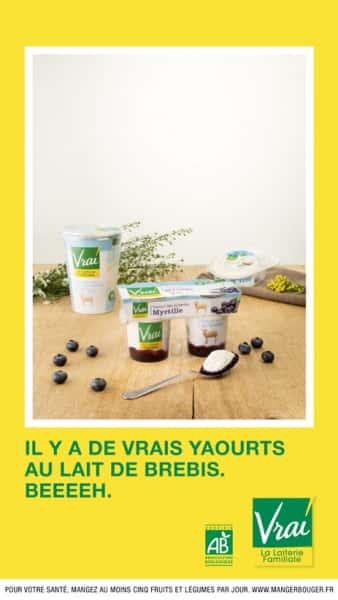 photographe culinaire vrai yaourts brebis bio