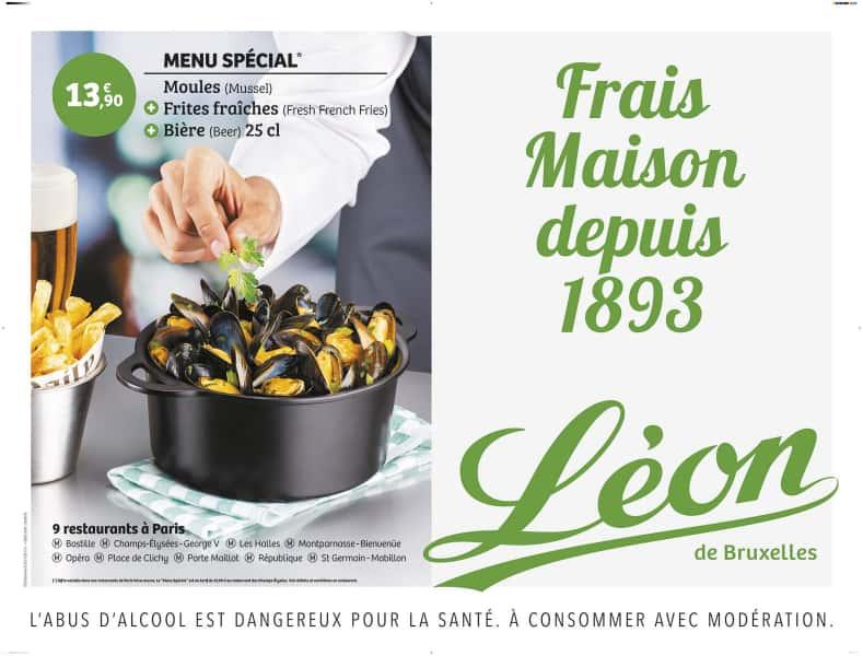 photographe culinaire leon de bruxelles affiche metro cocotte moule frite
