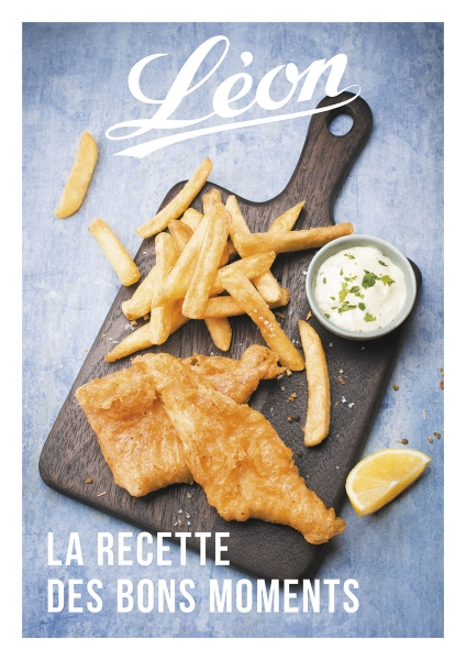 photographe culinaire leon de bruxelles planche fish and chips