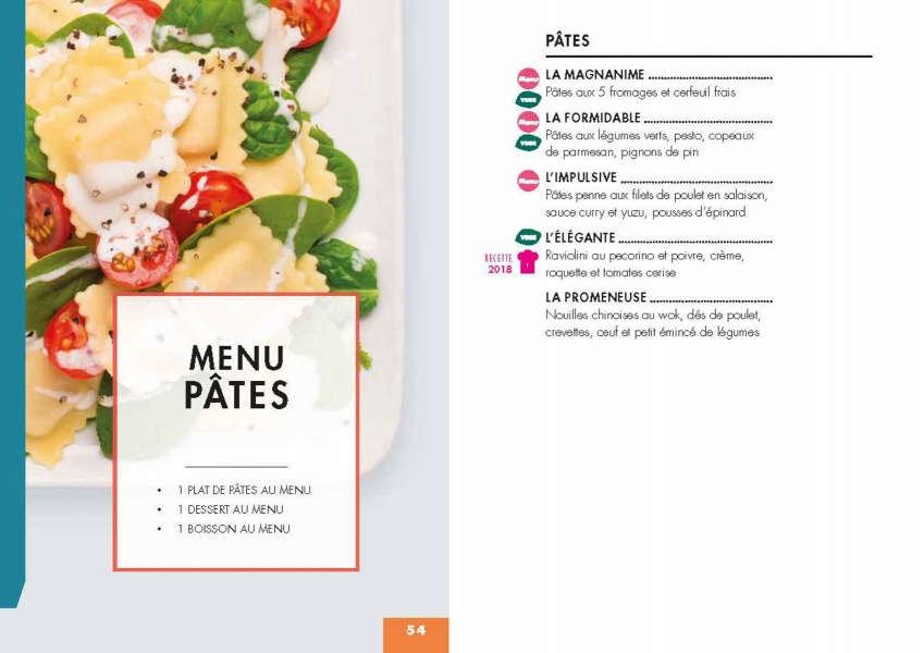photographe culinaire class croute menu pates