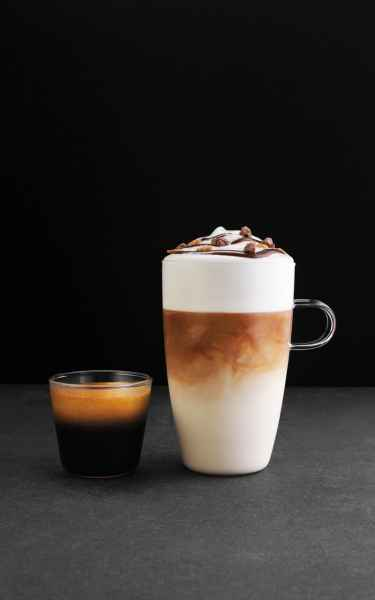 photographe culinaire post production boissons chaudes cappuccino