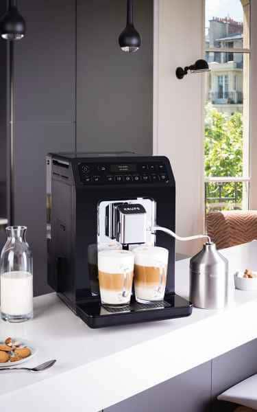 photographe lifestyle post production krups machine cafe ambiance