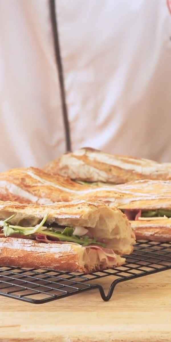 photographe video culinaire campaillette sandwich de bayonne