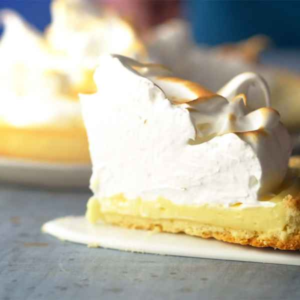 photographe video culinaire tarte citron meringuee